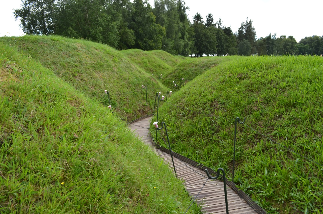 Trench at Beaumont Hamel