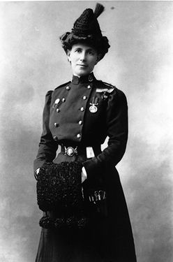 Georgina Pope, military personnel