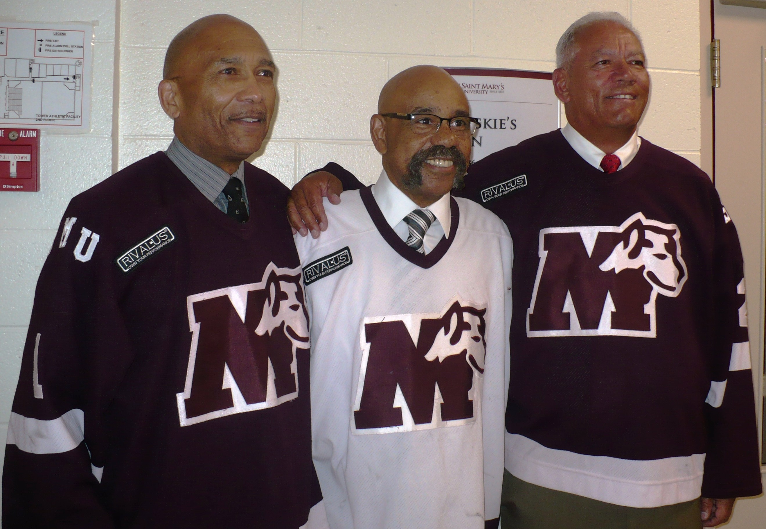 Saint Mary's Players Make Hockey History