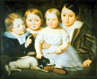 \u00ab Four Children and a Dog \u00bb