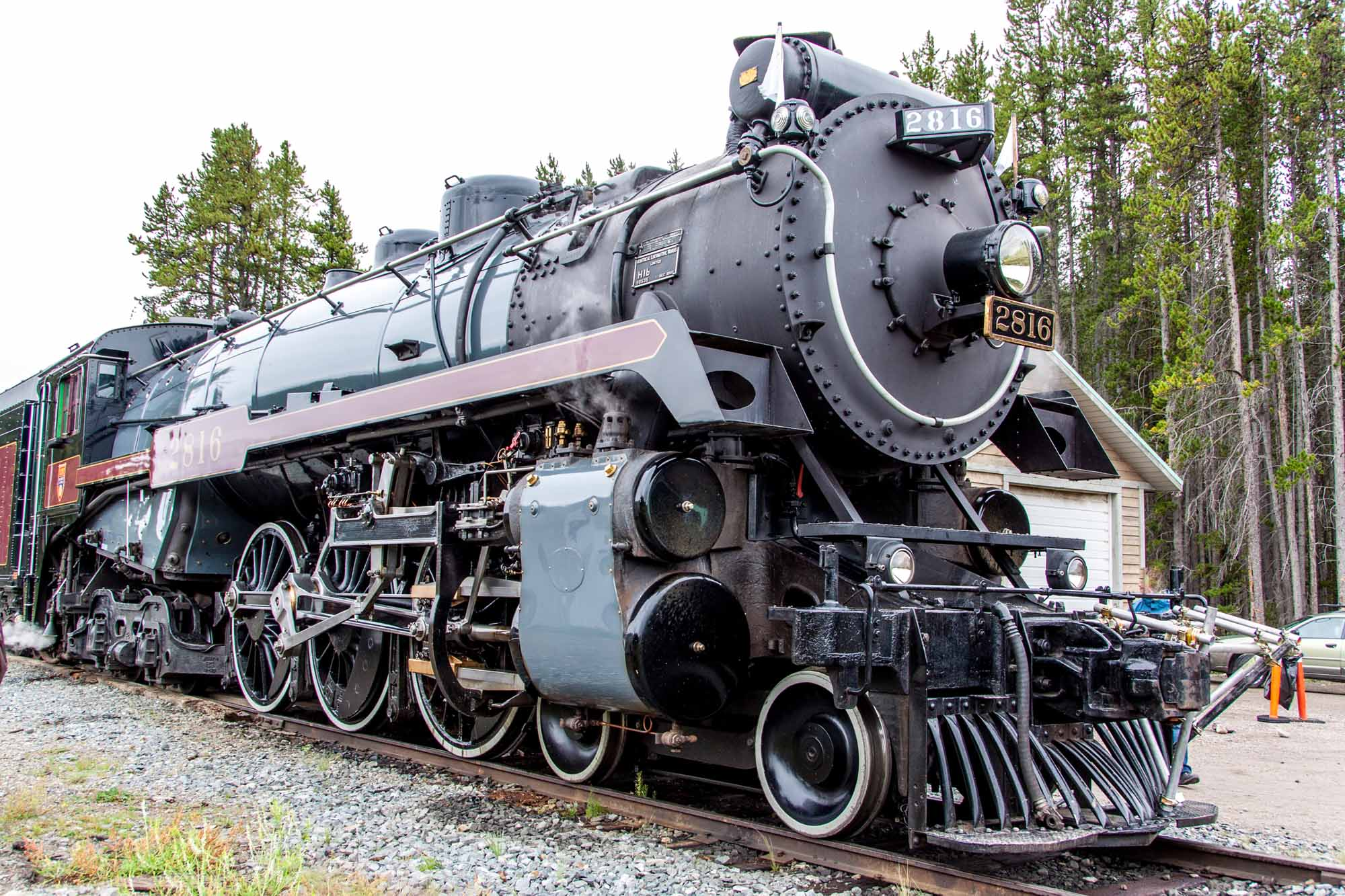 Canadian Pacific Steam Train