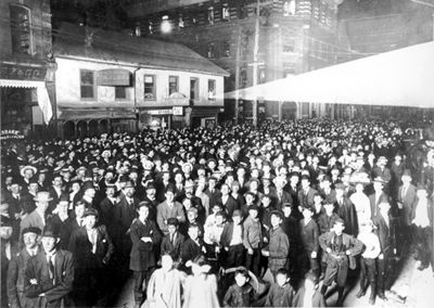 Election Night, 1908