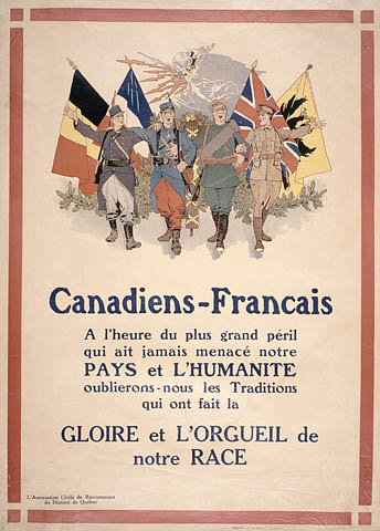 WWI Affiche de recrutement