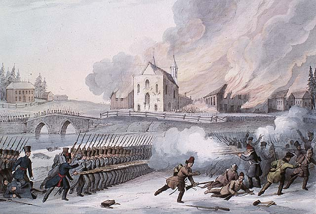 Battle of St. Eustache