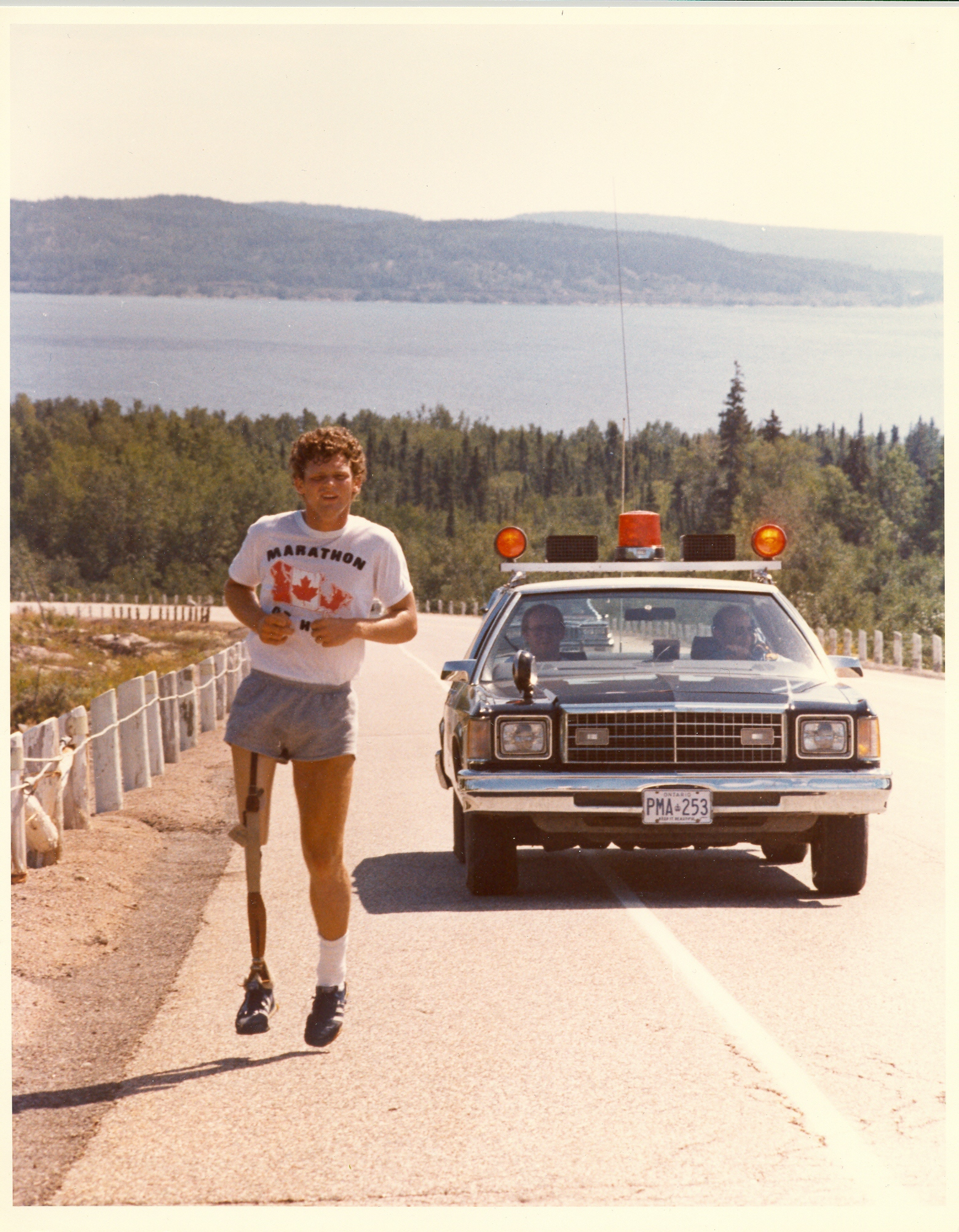 Terry Fox sur la route