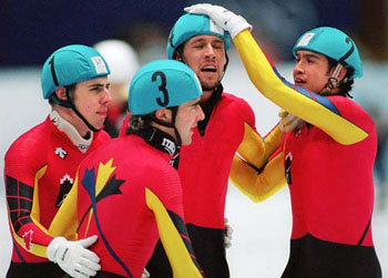 Men's Olympic Short Track Speed Skating, 1998