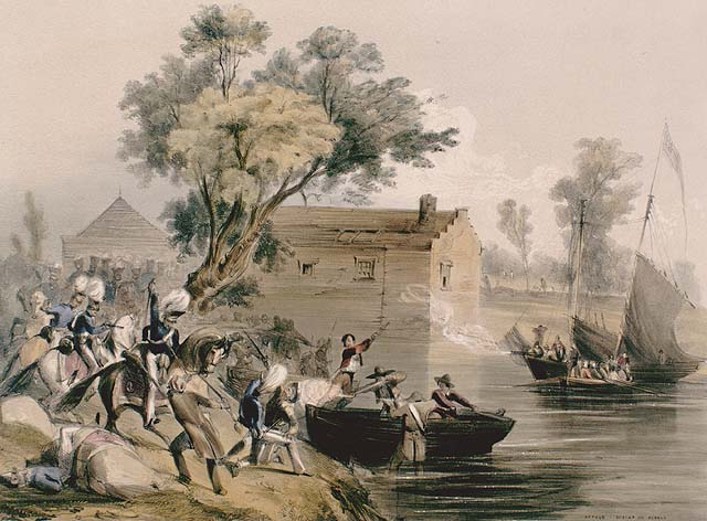 Rebels at Dickinson Landing, Upper Canada