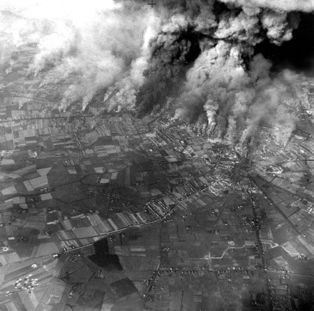 Bombing at Caen, France