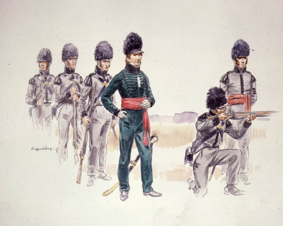 Voltigeurs of the War of 1812