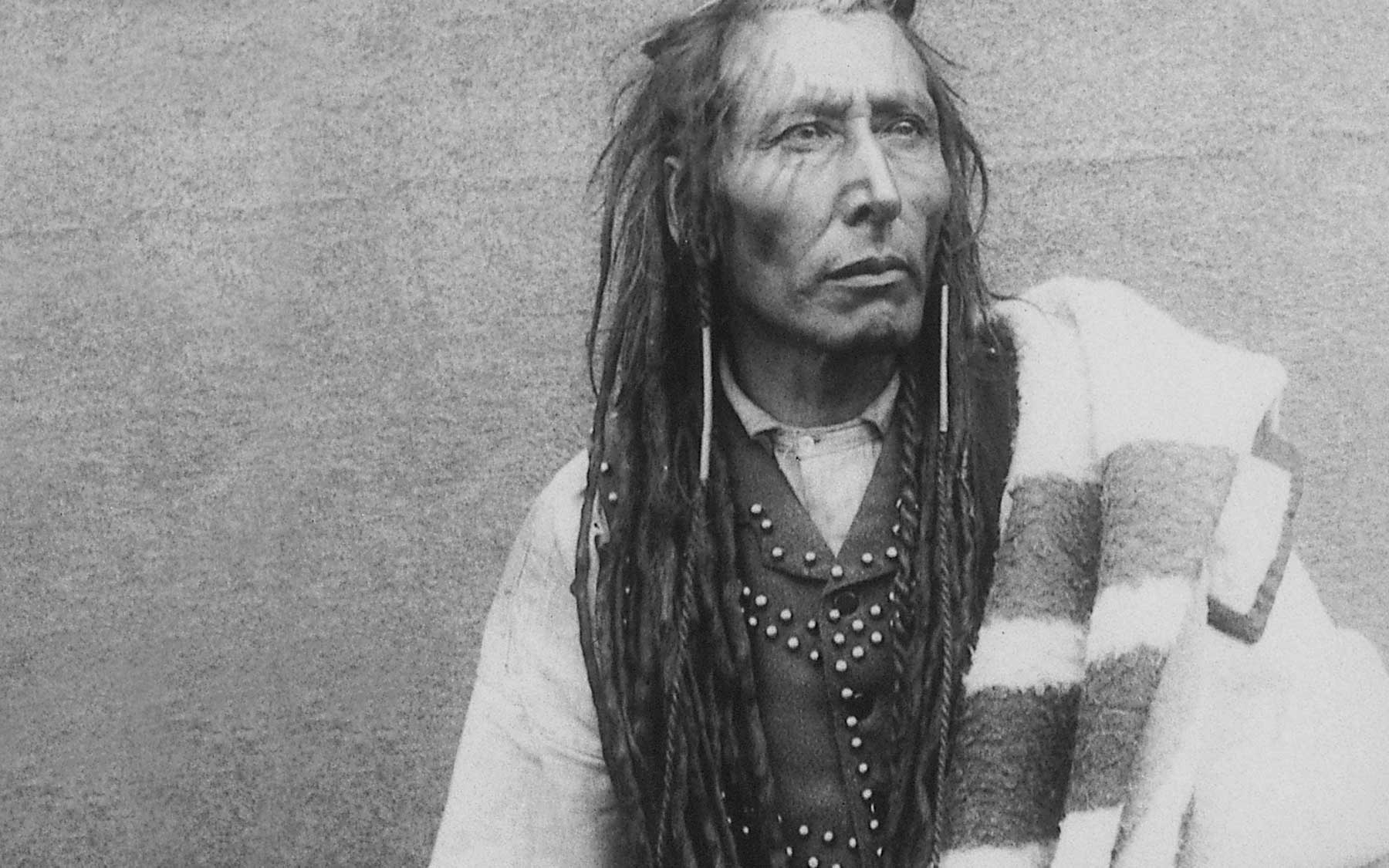 Pitikwahanapiwiyi (Poundmaker), Plains Cree Chief, 1885