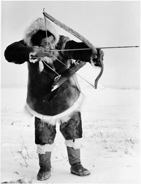 Inuk hunter