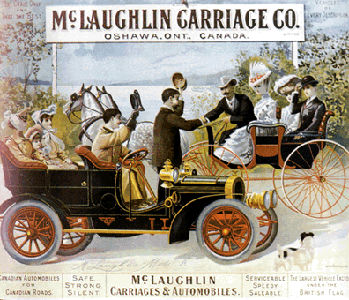 McLaughlin Carriage Company Poster