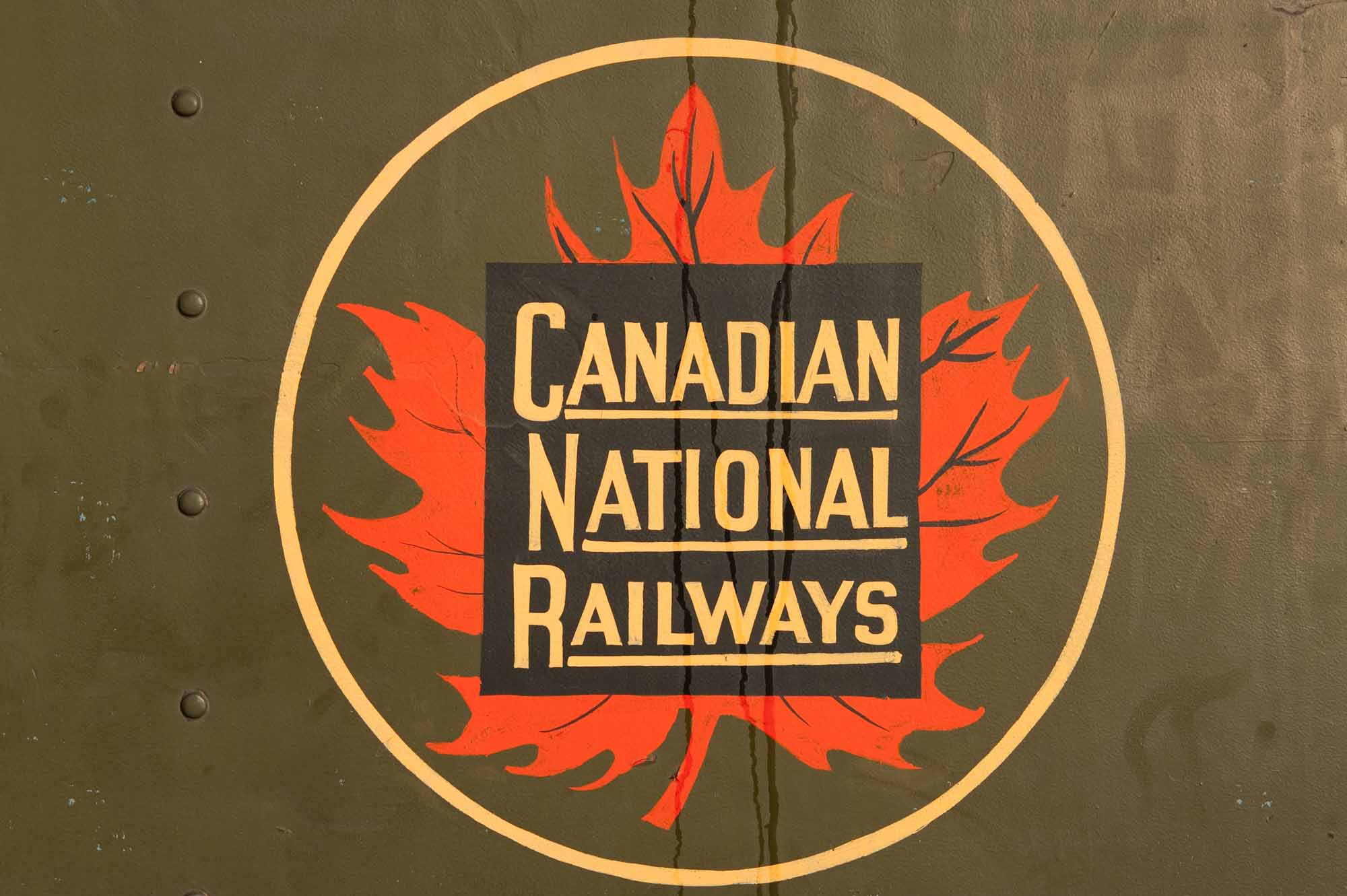 Vintage Canadian National Railways Logo