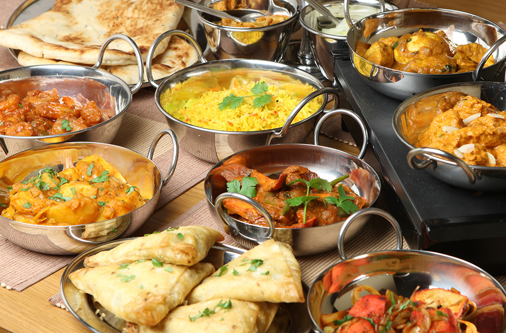 Indian Food Curries and Dishes