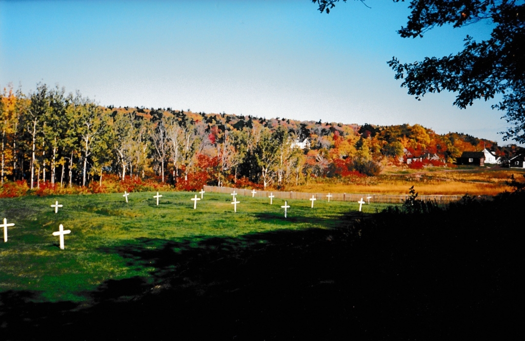 The Irish Cemetery, Grosse Île