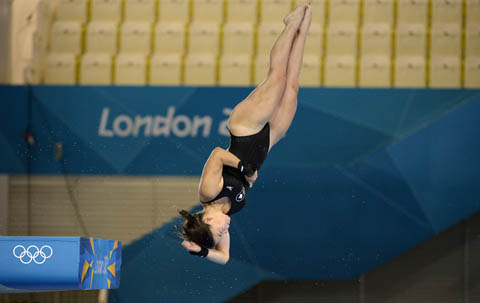 Roseline Filion, diver