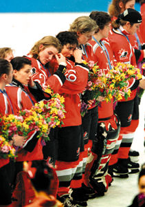 Women's Olympic Hockey Team, 1998