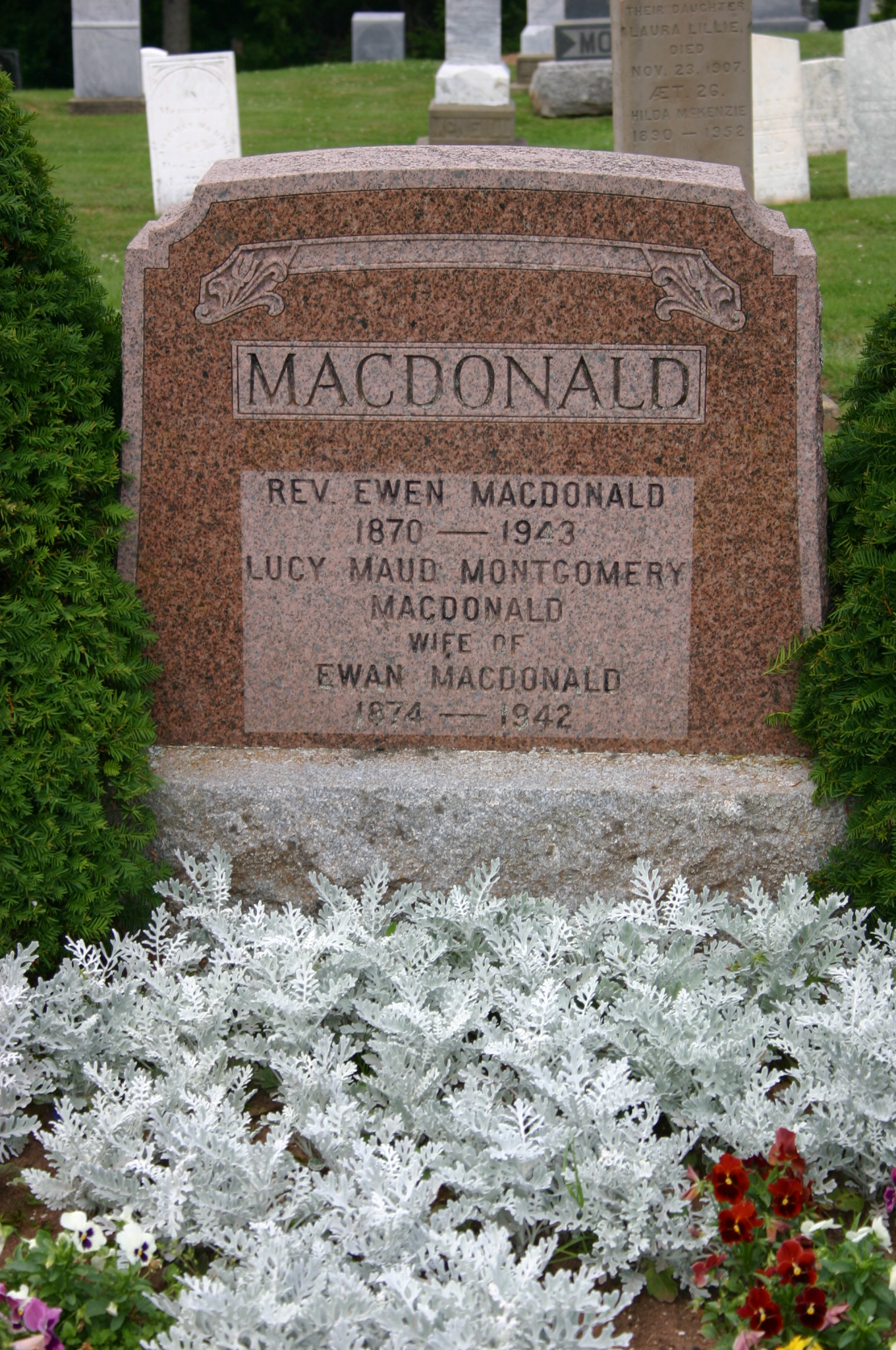 Grave of Lucy Maud Montgomery
