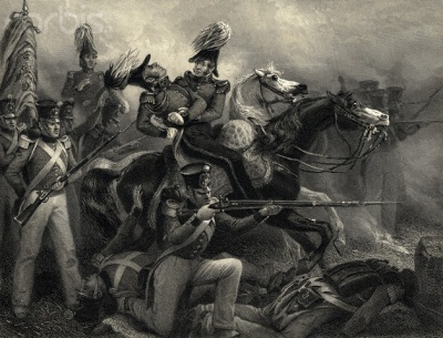 The Battle of Baltimore, Death of General Ross