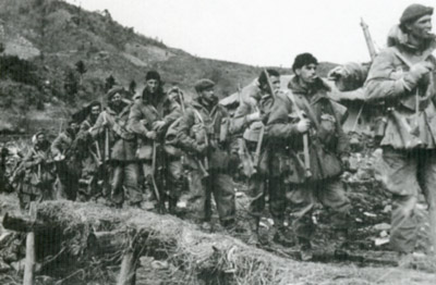 Patrol in Korea