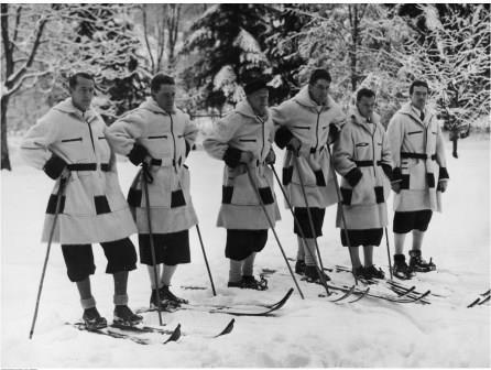 Canadian Skiers, 1936 Olympic Winter Games