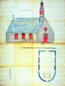 Drawing of a Church Plan