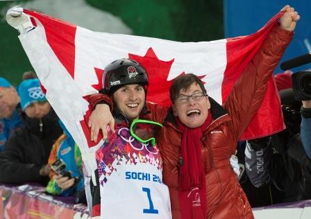Alex and Frédéric Bilodeau, Sochi 2014