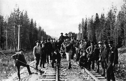 Image result for the last railroad spike