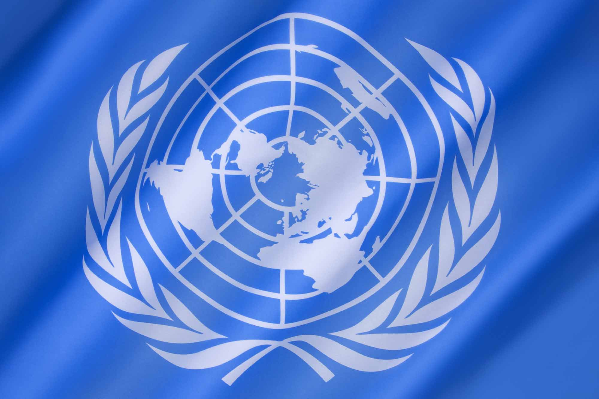 Drapeau des Nations Unies