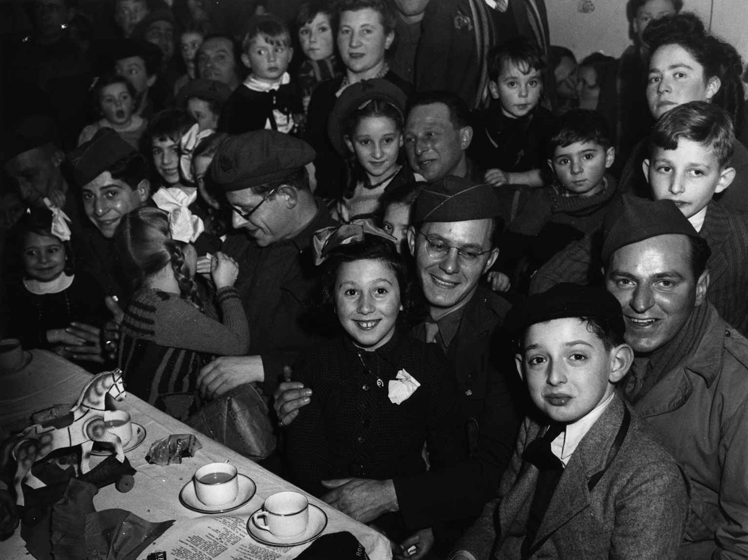 Chanukah Party, 1944