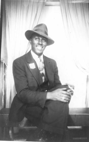 Clarence Coleman in Winnipeg, 1942.