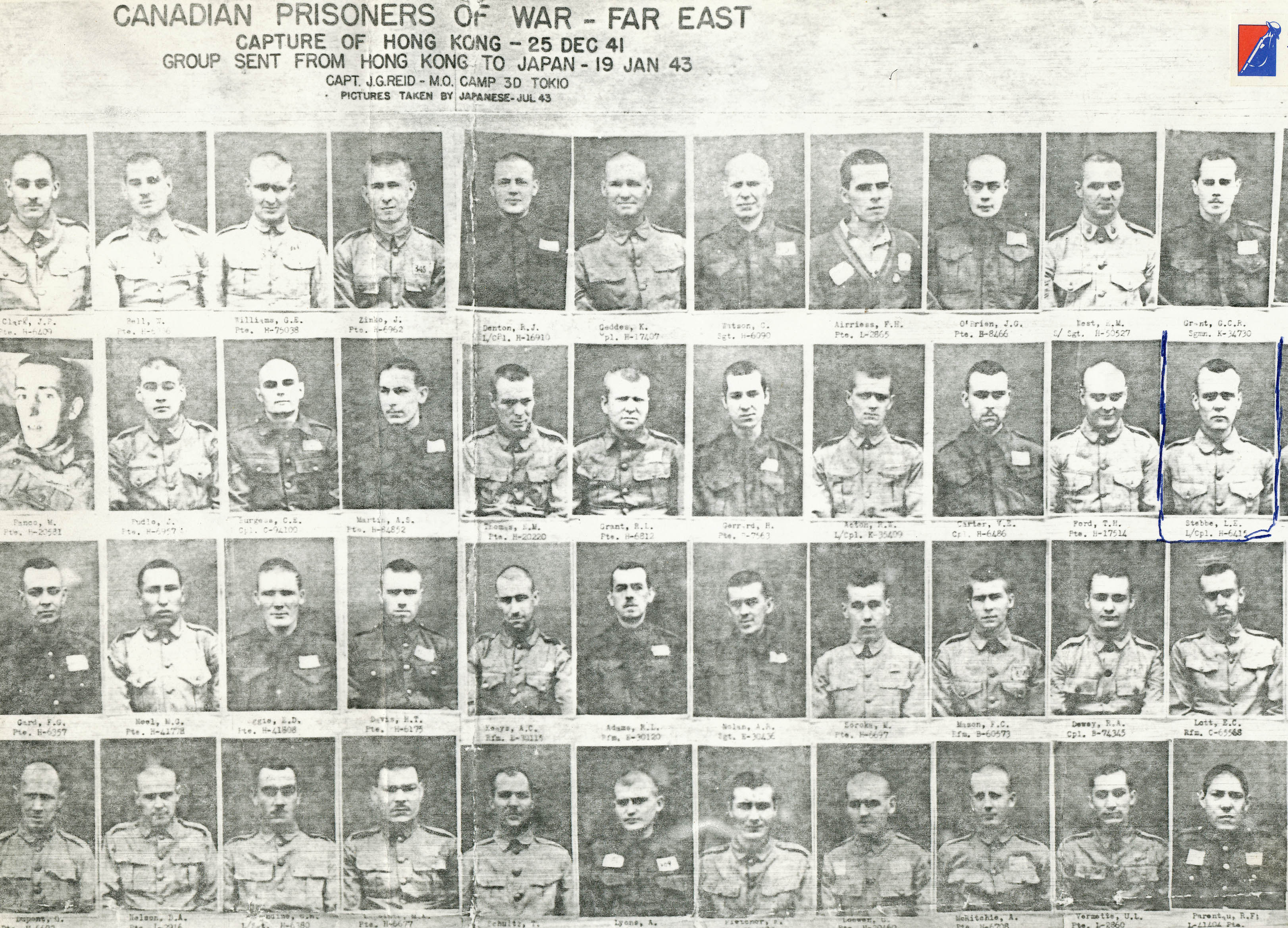 Canadian Prisoners of War