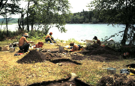 Diggity Site Excavation 1983