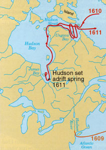 Explorations of Henry Hudson