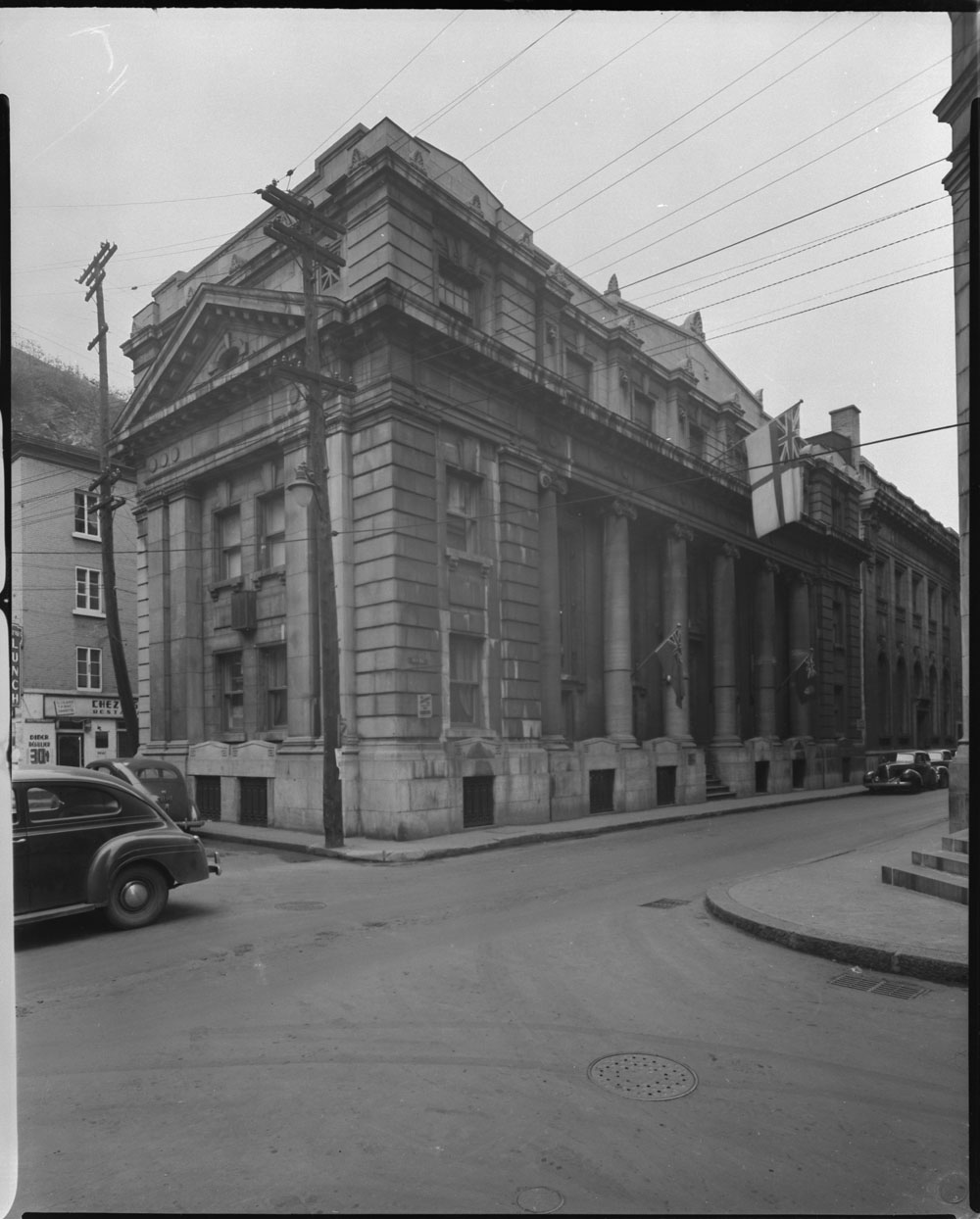 Knights of Columbus Hostel on St. Peter Street, Québec City in 1943