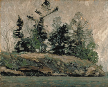 Spring, French River
