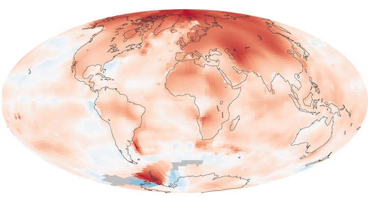 Global Temperature: 2000 to 2009