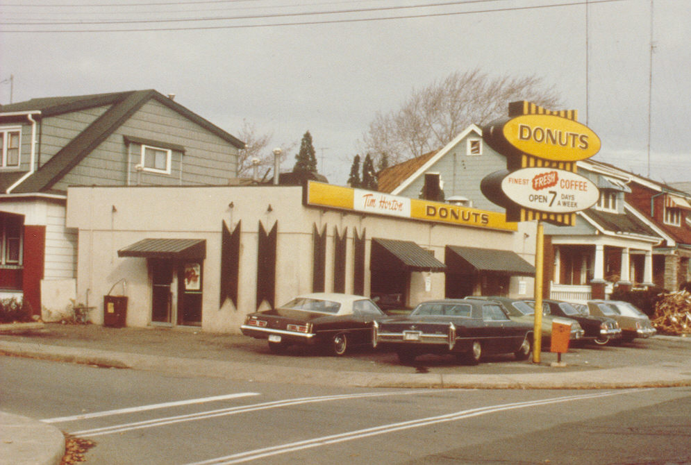 the first tim hortons opened in april 1964 at the corner of ottawa street north and dunsmure road in hamilton ontario