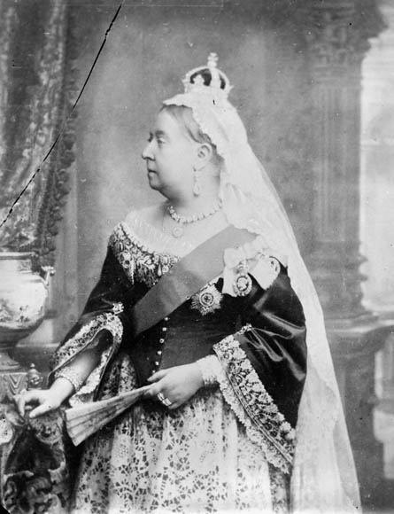 Queen Victoria in May 1897