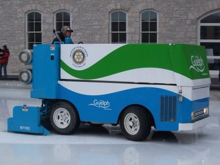 Zamboni Ice-resurfacing machine