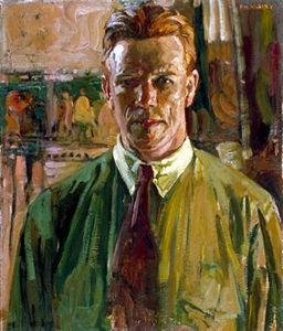 F.H. Varley, Self-Portrait