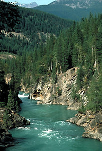 Fraser River and Canyon