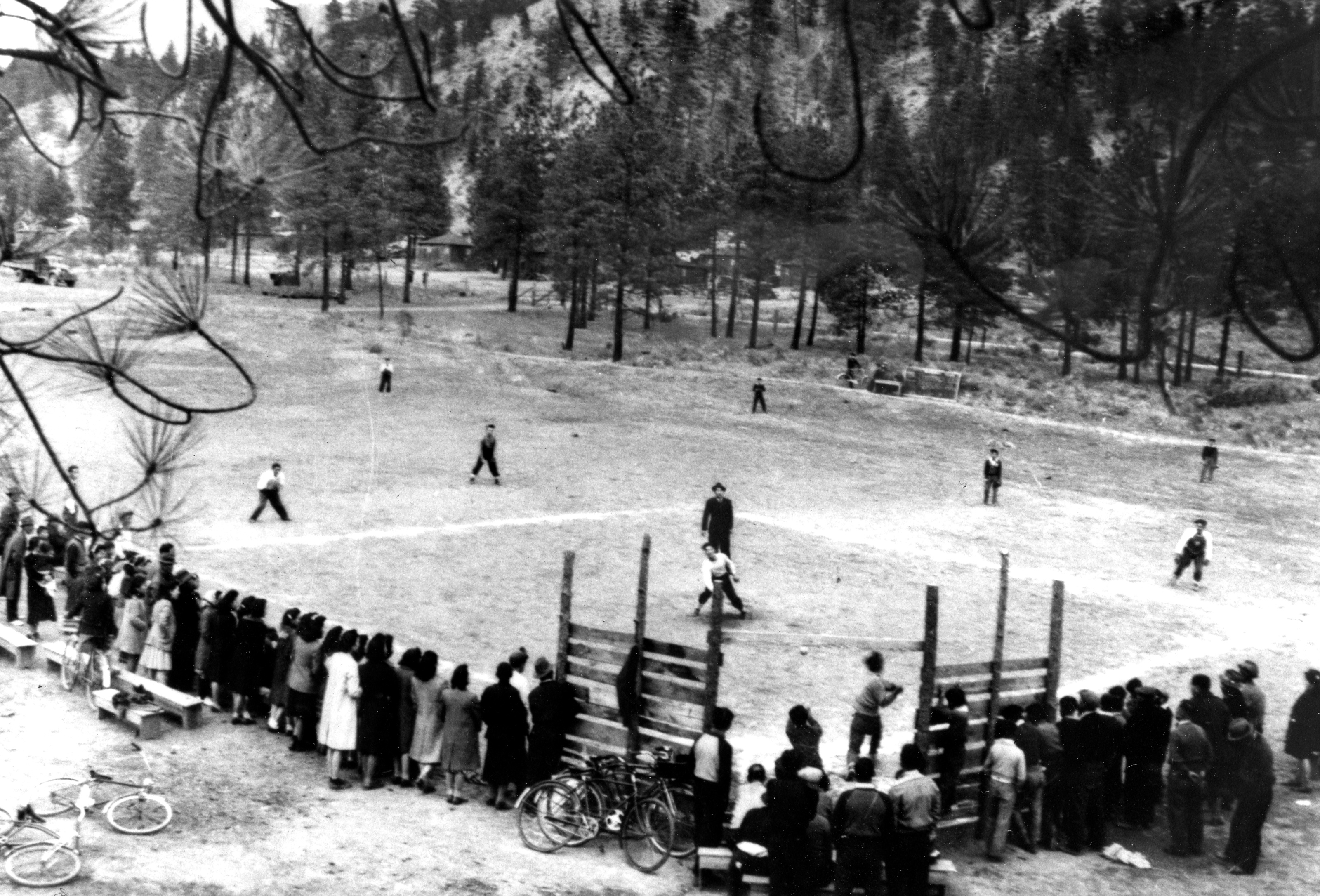 Softball Game, East Lillooet