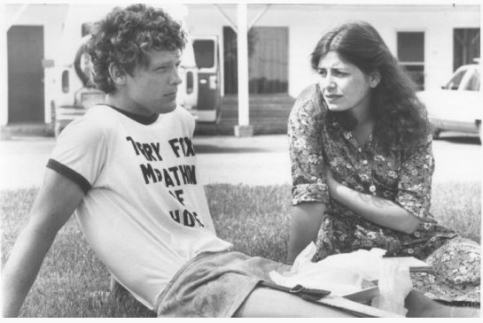 Terry Fox and Leslie Scrivener