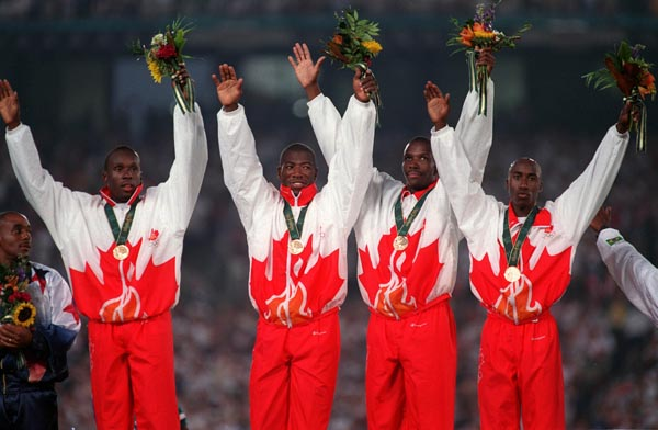Men's Relay Team 1996