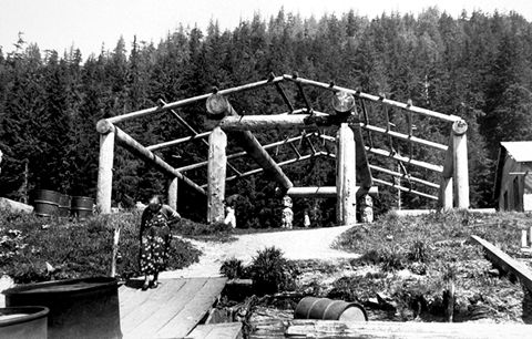 Kwakiutl, construction d