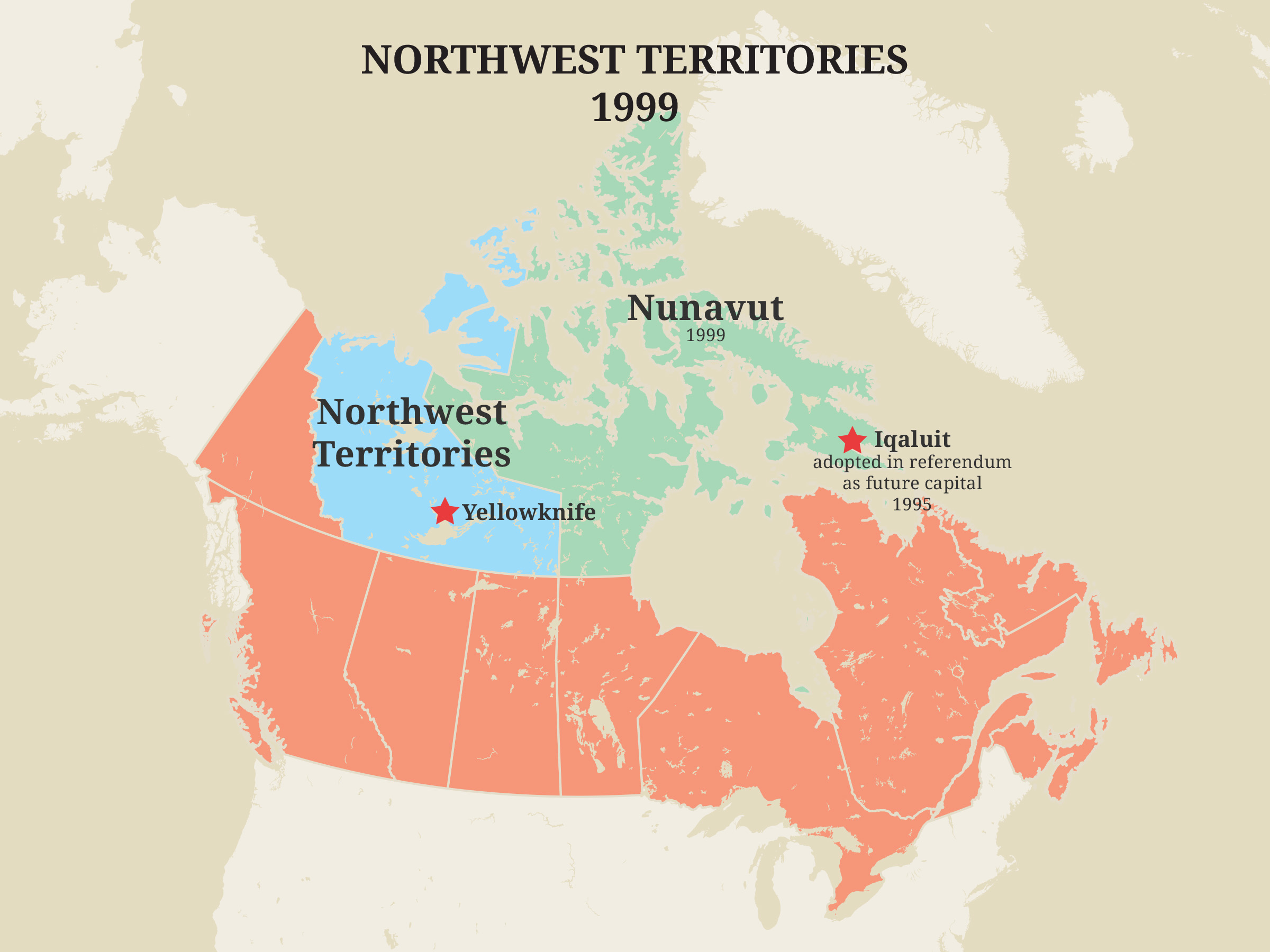 Northwest Territories, 1999