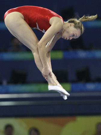 Karen Cockburn, gymnast