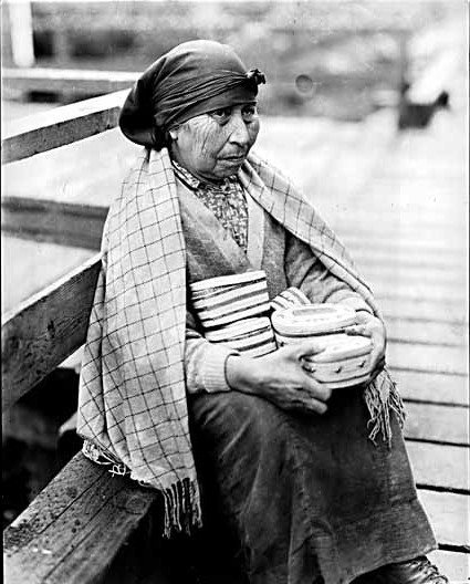 Nuu-chah-nulth Woman