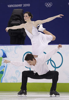 Tessa Virtue and Scott Moir, ice dancers